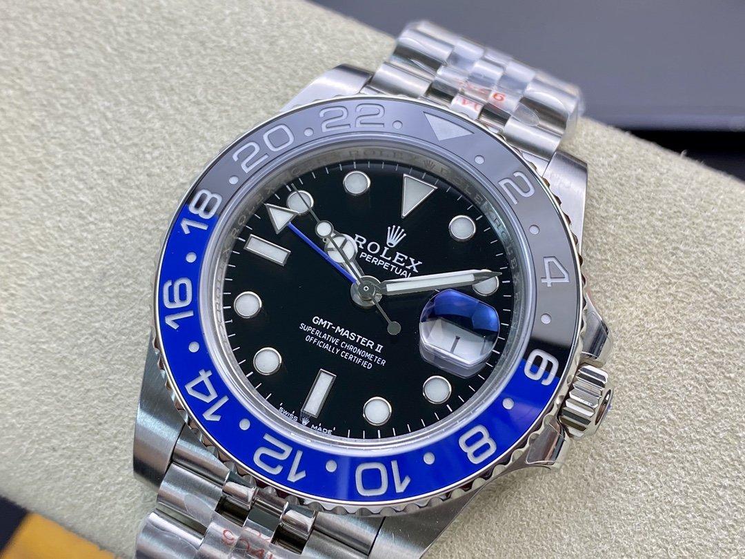 GM廠手錶仿表勞力士格林尼治ll升級版3285機芯,N廠手錶