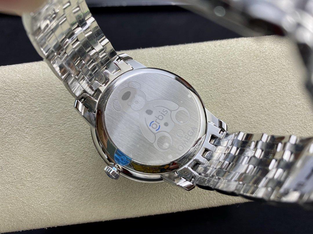 高仿歐米茄蝶飛系列奧比斯紀念款424.10.40.20.03.003,RXW出品N廠手錶