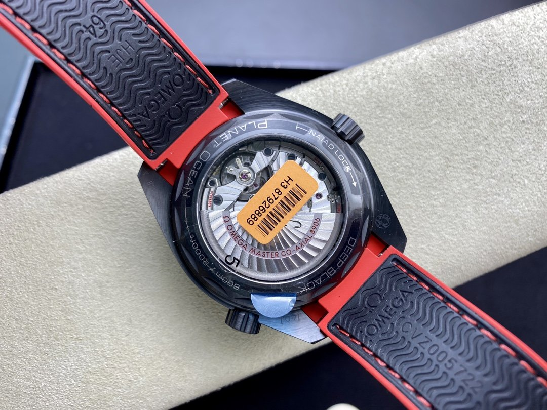 VS FACTORY WATCH仿表歐米茄OMEGA深海之黑酋長系列全黑陶瓷海洋宇宙600米複刻手錶,N廠手錶