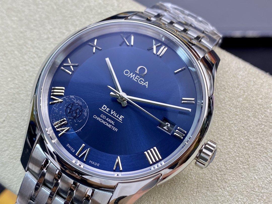VS廠手錶仿表歐米茄蝶飛經典黑搭載同軸8500機芯複刻手錶,N廠手錶