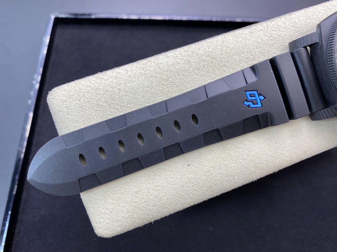 仿表沛納海Pam616型P9000升級V3魚眼玻璃VS廠手錶,N廠手錶
