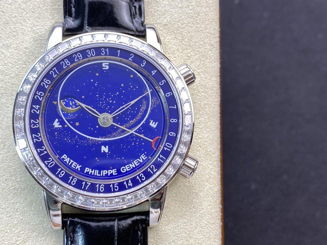 PP Factory 2020最新力作V3升級版頂級複刻PP百達翡麗星空5102天月款日內瓦蒼穹系列,N廠手錶