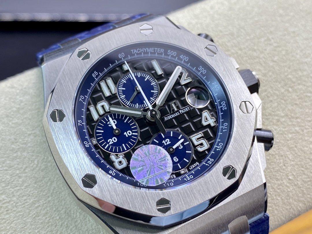 JF廠手錶仿表愛彼AP26470陶瓷按鈕3126機芯,N廠手錶