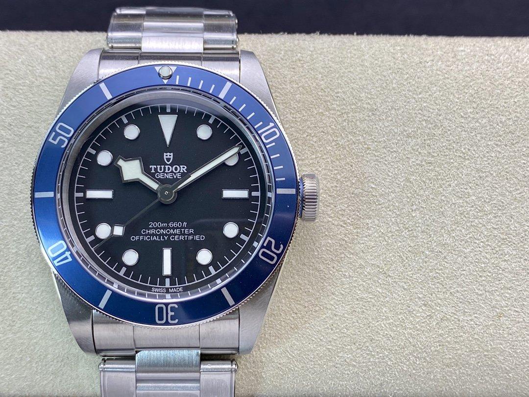 Tudor Heritage Black Bay M79230B帝陀/帝舵老款小藍花ZF廠手錶出品,N廠手錶