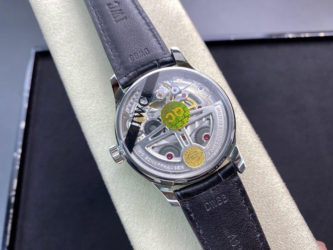 ZF廠手錶V5版萬國IWC葡萄牙系列七日鏈葡七仿表,N廠手錶