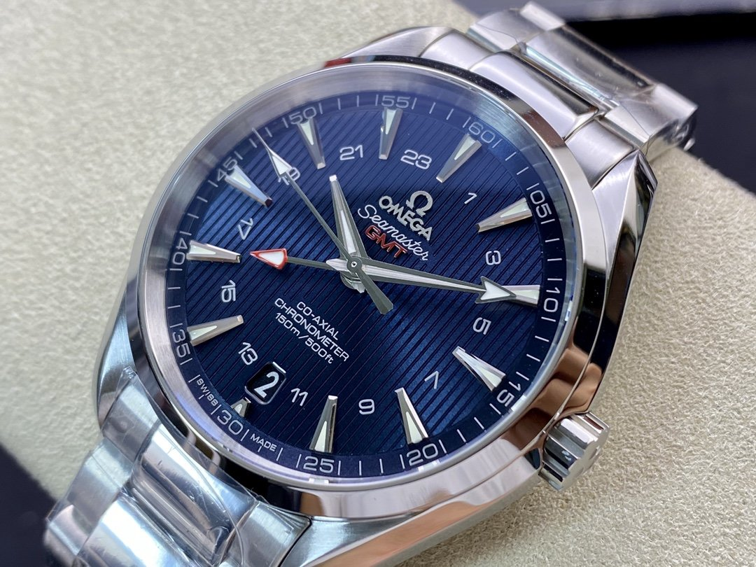 VS Factory omega watch仿表歐米茄海馬150 米GMT型8605機芯複刻表,N廠手錶