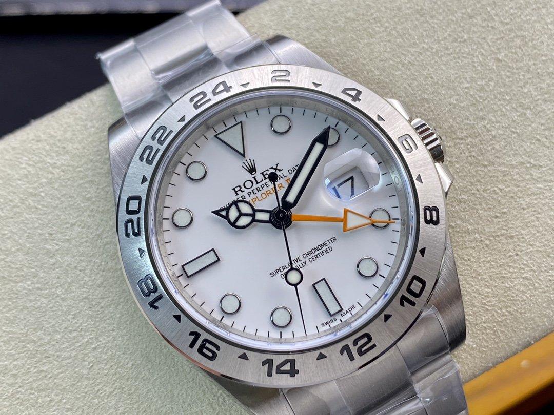 Noob factory rolex勞力士探二探險家二代3187機芯仿手,N廠手錶