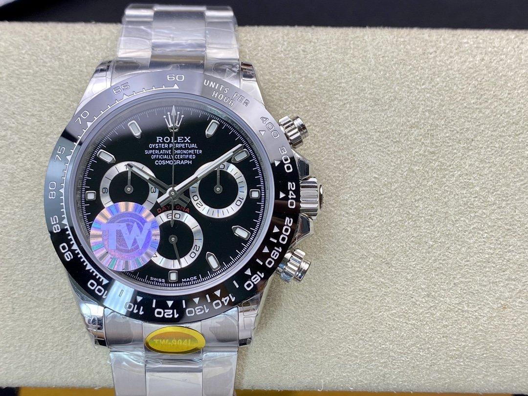 TW factory ROLEX高仿勞力士蠔式恒動宇宙計時型迪通拿904L鋼腕表,N廠手錶
