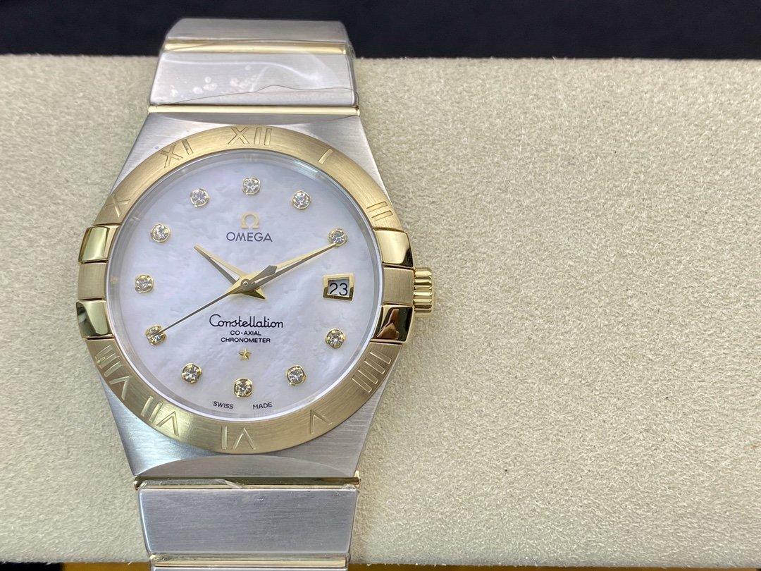 TW FACTORY歐米茄OMEGA 星座系列38mm石英手錶-N廠手錶