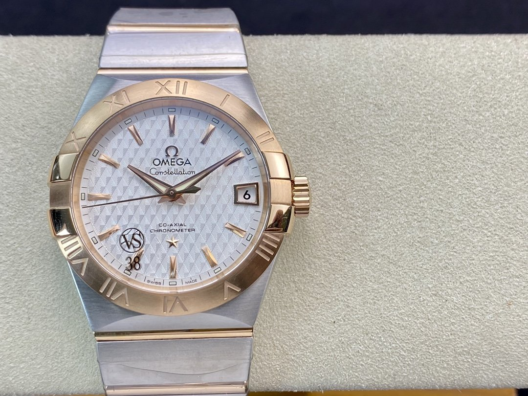 VS Factory OMEGA 歐米茄男裝星座8500機芯38MM仿表-N廠手錶
