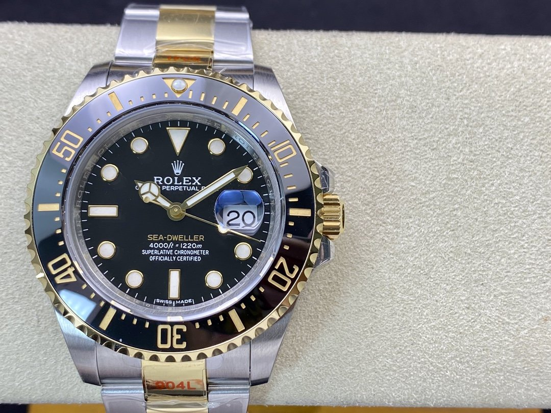 GM Factory勞力士Rolex 單黃海使型系列:m126603-0001複刻手錶,N廠手錶
