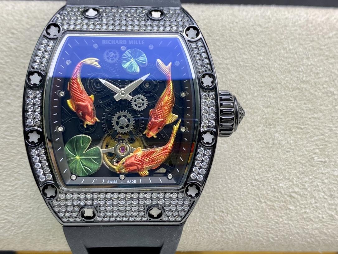 高仿理查德米勒Richard Mille RM57-01 【年年有魚】複刻手錶