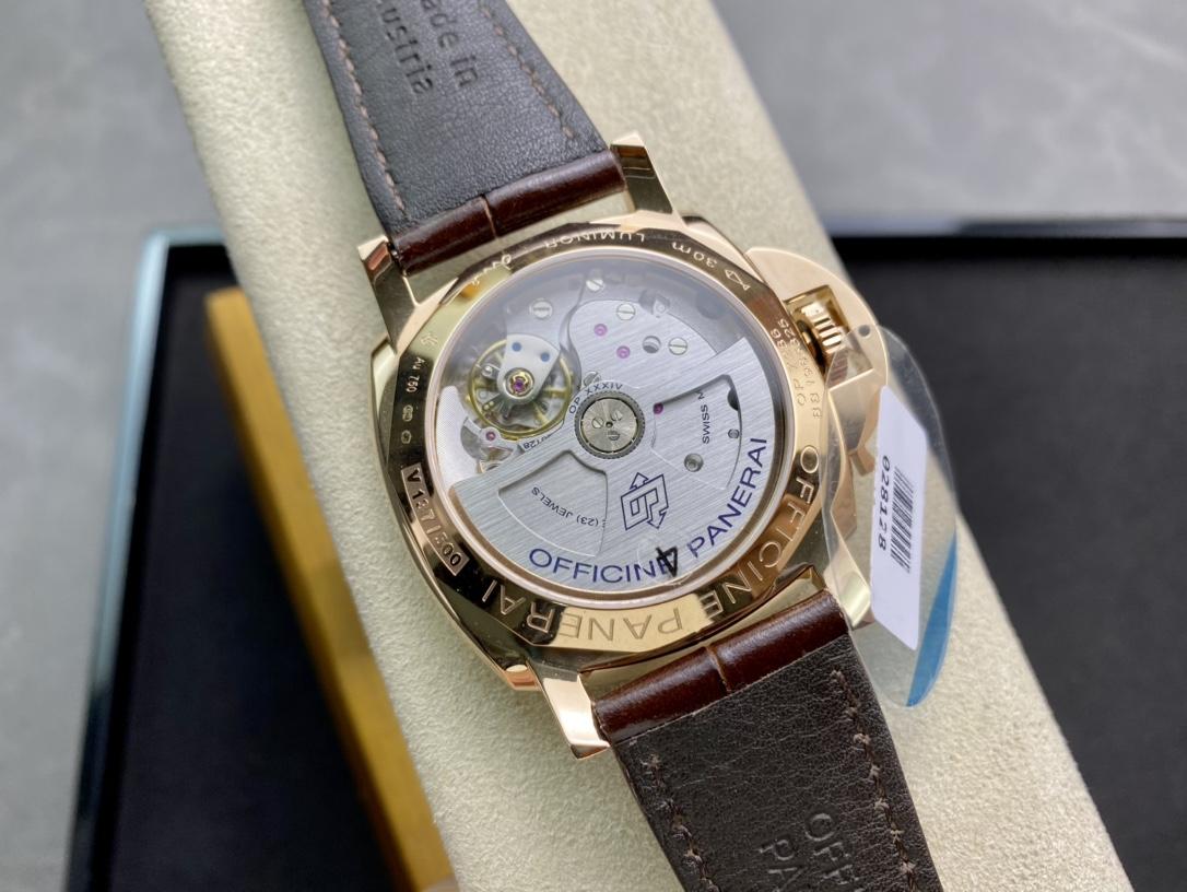 VS廠手錶PAM 1042高仿沛納海 Luminor Due 小紅金 42MM 最纖薄複刻手錶