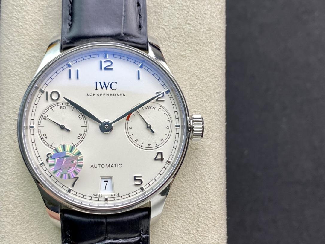 ZF廠手錶葡七銷量神器V5葡7萬國IWC葡萄牙系列七日鏈複刻手錶
