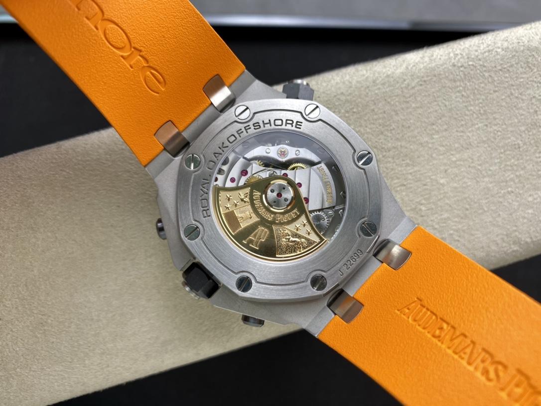 JF廠手錶高仿愛彼AP26703計時水果系列搭載3126複刻機芯複刻手錶