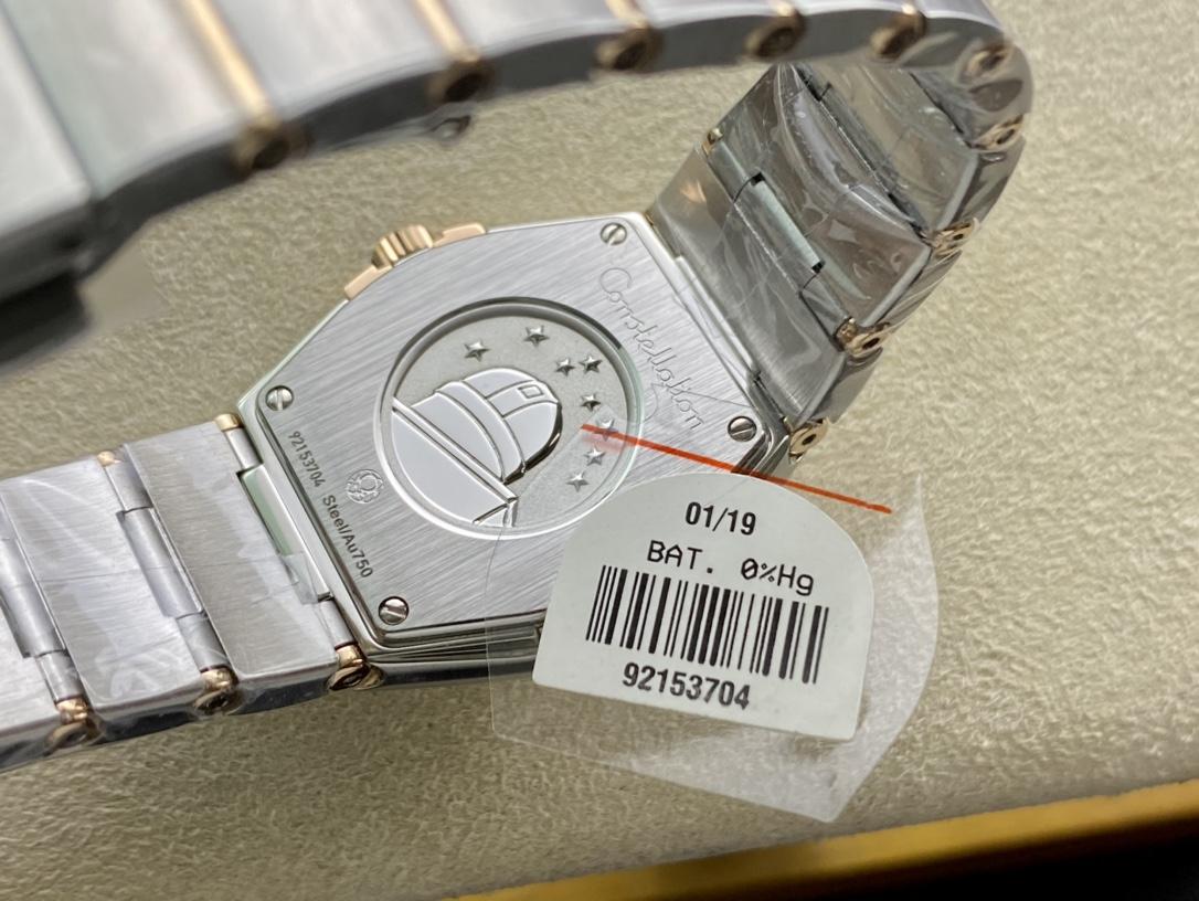 SSS廠3S出品仿表歐米茄星座系列女表27MM複刻手錶