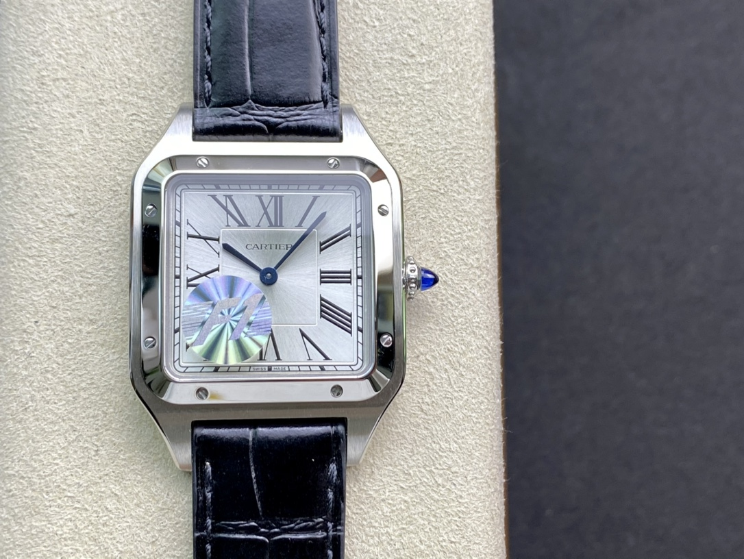 F1廠手錶卡地亞山度士系列杜蒙31.4MM複刻手錶