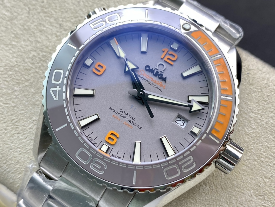 OM Facyory最強v3版仿表歐米茄海馬600米系列海洋宇宙600米8900機芯複刻腕表