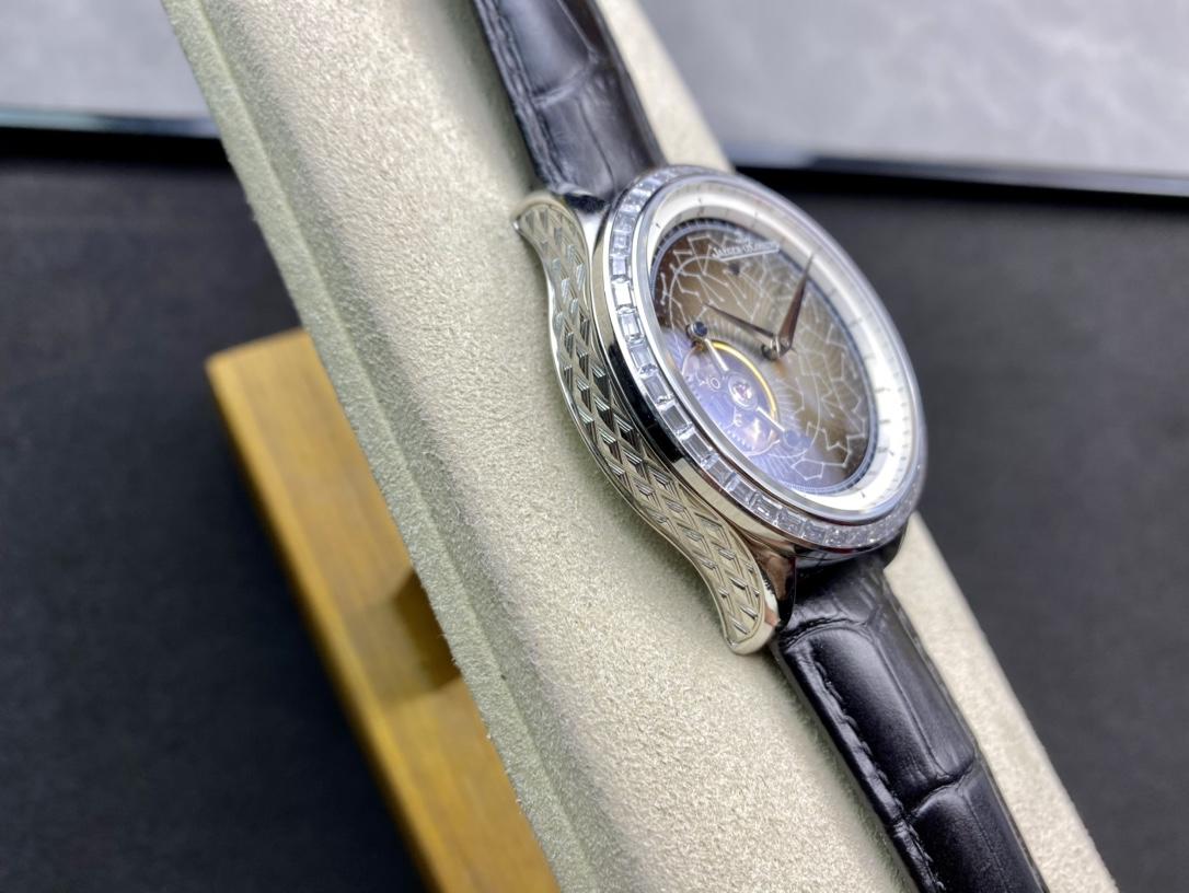 JL廠手錶高仿積家大師系列軌道飛輪手動上鏈機芯仿表