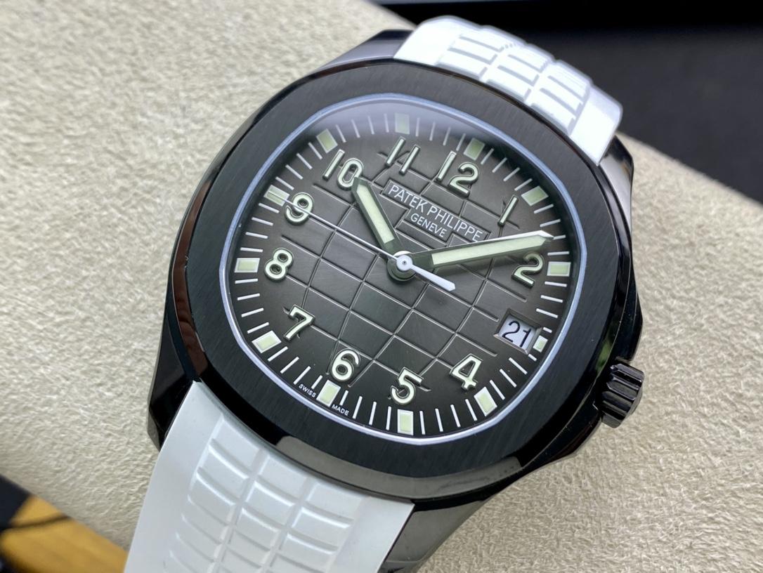 ZF廠手錶高仿百達翡麗PP5167黑毒液手雷改裝手錶仿表