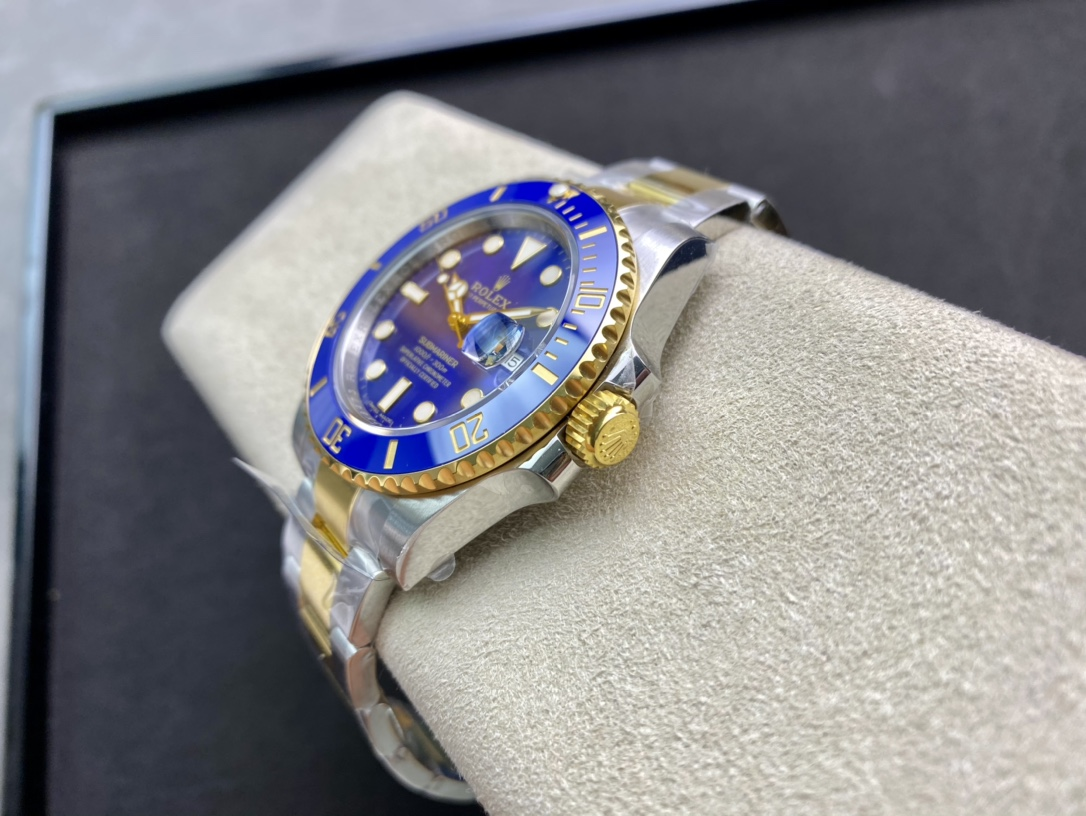 仿表VS廠手錶高仿勞力士間金藍水鬼3135機芯複刻手錶