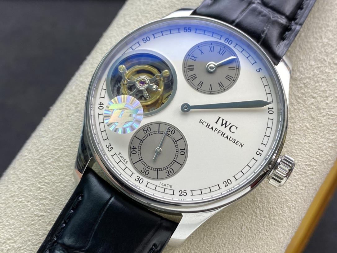ZF廠手錶IWC萬國表葡萄牙系列時分秒分離陀飛輪仿表