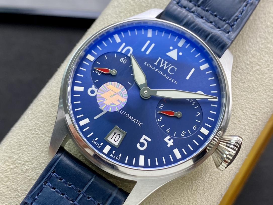 ZF廠手錶IWC萬國小針特別款空中霸主大飛大飛行員系列仿表