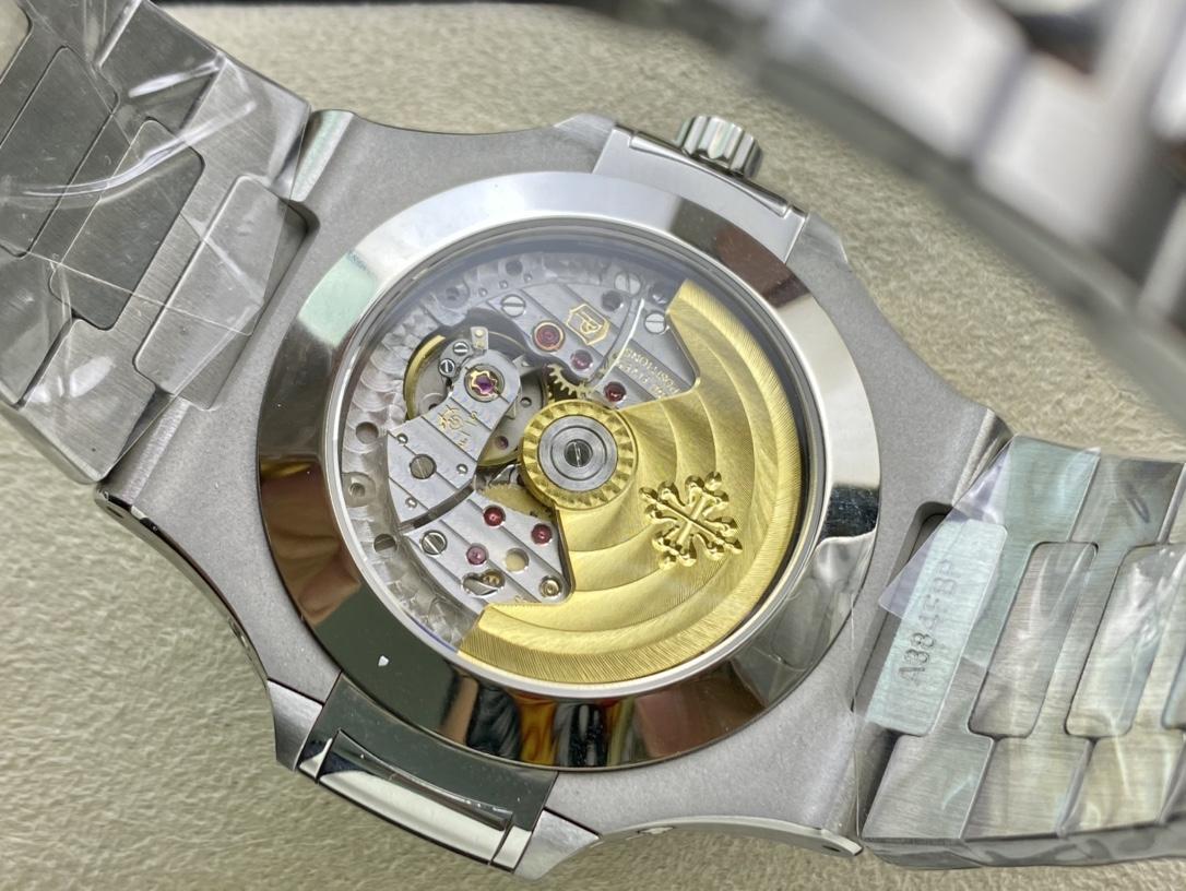 GR廠手錶V3版仿表百達翡麗Nautilus年曆腕表5726系列複刻手錶