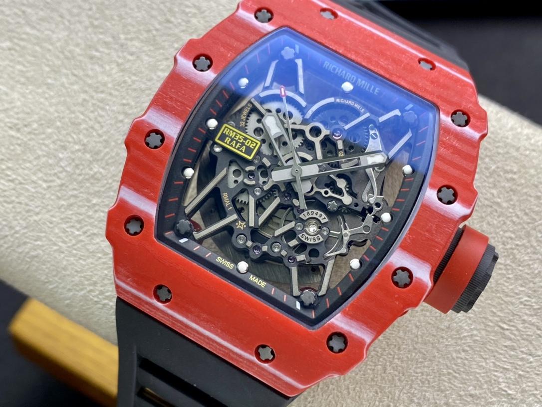 RMX改裝表專家豪改仿表理查德RM35-02複刻手錶
