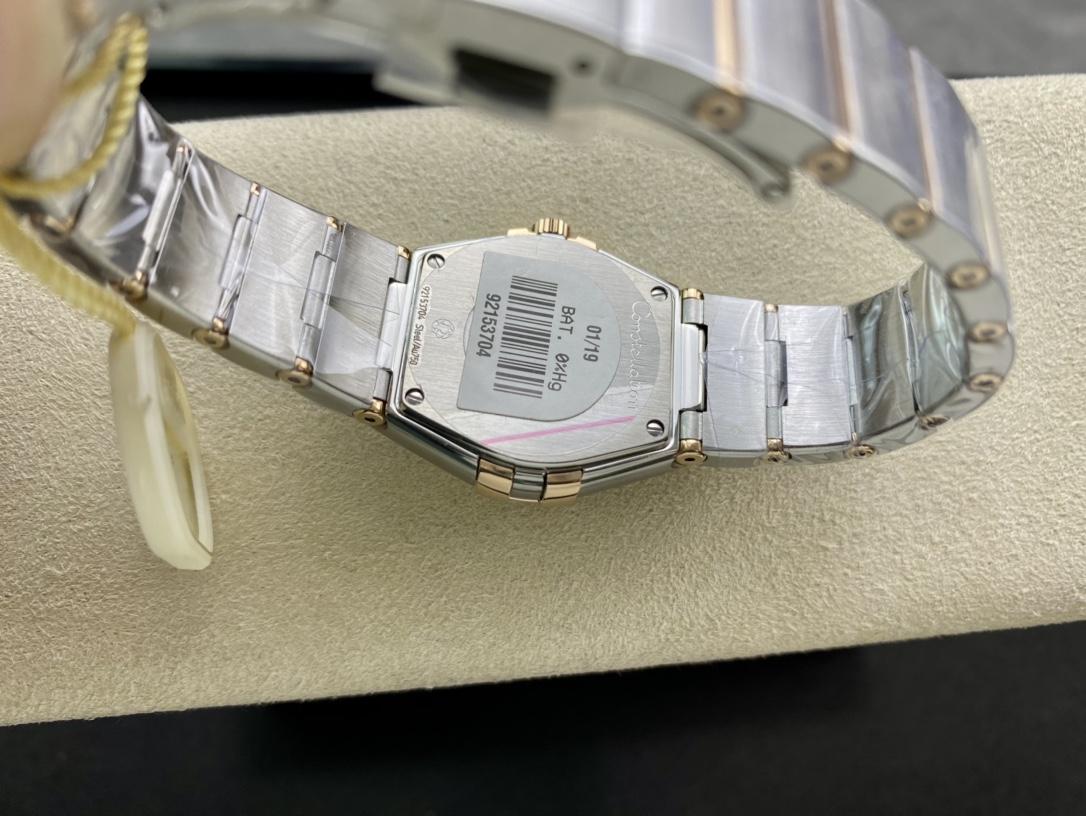 SSS廠3S出品仿表歐米茄星座系列女表27MM,N廠手錶