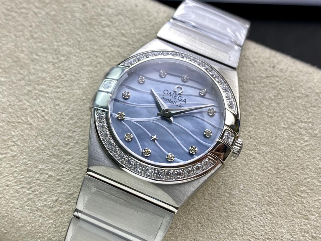 SSS廠仿表歐米茄星座系列女表,N廠手錶