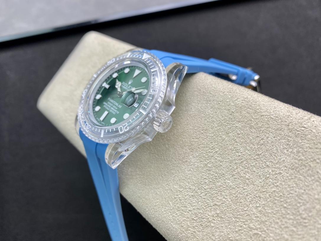 仿表勞力士透明水鬼親民版,N廠手錶