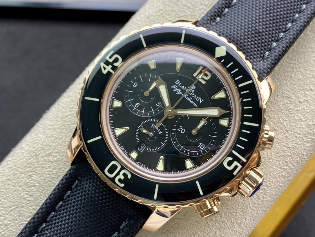 OM廠仿表寶珀五十尋50尋計時款,N廠手錶