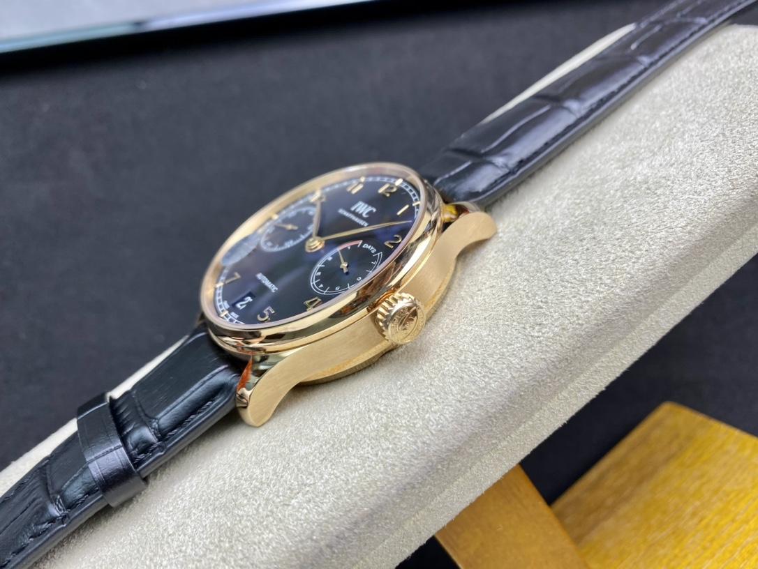 仿表萬國葡萄牙系列葡七七日鏈ZF廠手錶,N廠手錶