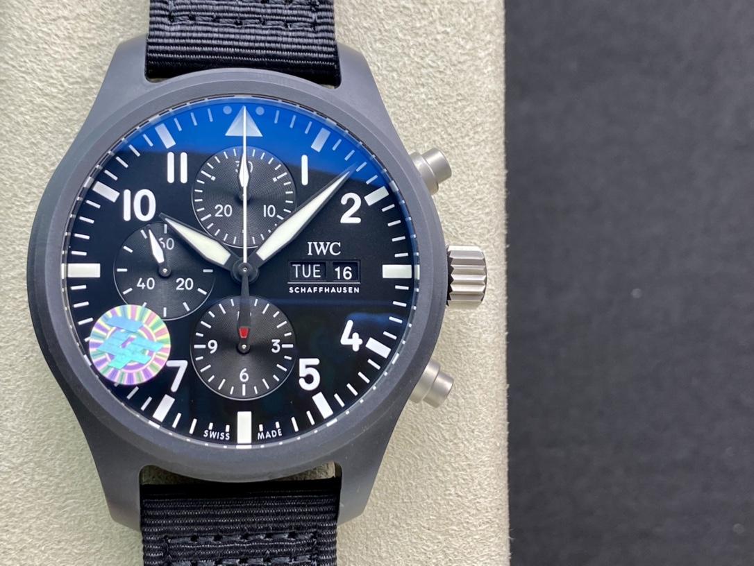 ZF廠手錶萬國IWC3777飛行員計時系列,N廠手錶