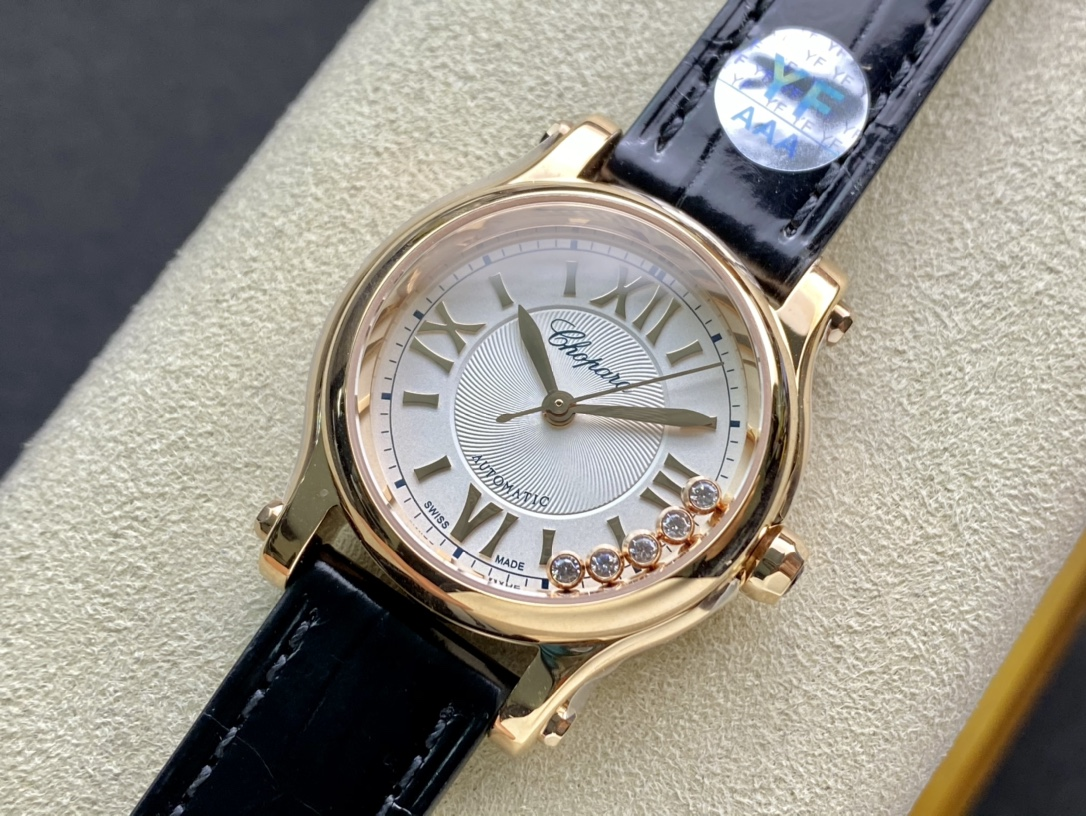 YF廠仿表蕭邦HAPPY DIAMONDS快樂鑽,N廠手錶