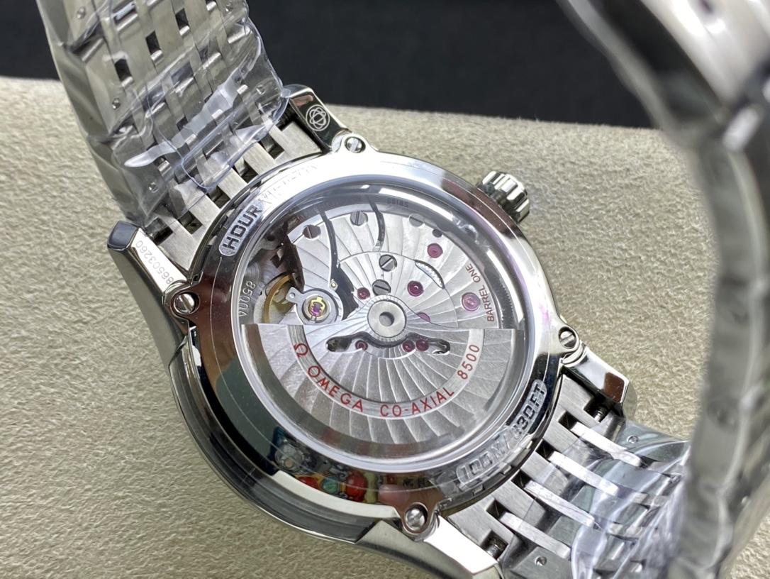 TW廠手錶仿表歐米茄蝶飛系列雙側透明8500機芯,N廠手錶
