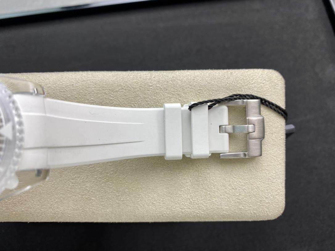 BLAKEN高定版改裝透明水鬼幻影實驗室勞力士聯名力作水晶系列,N廠手錶
