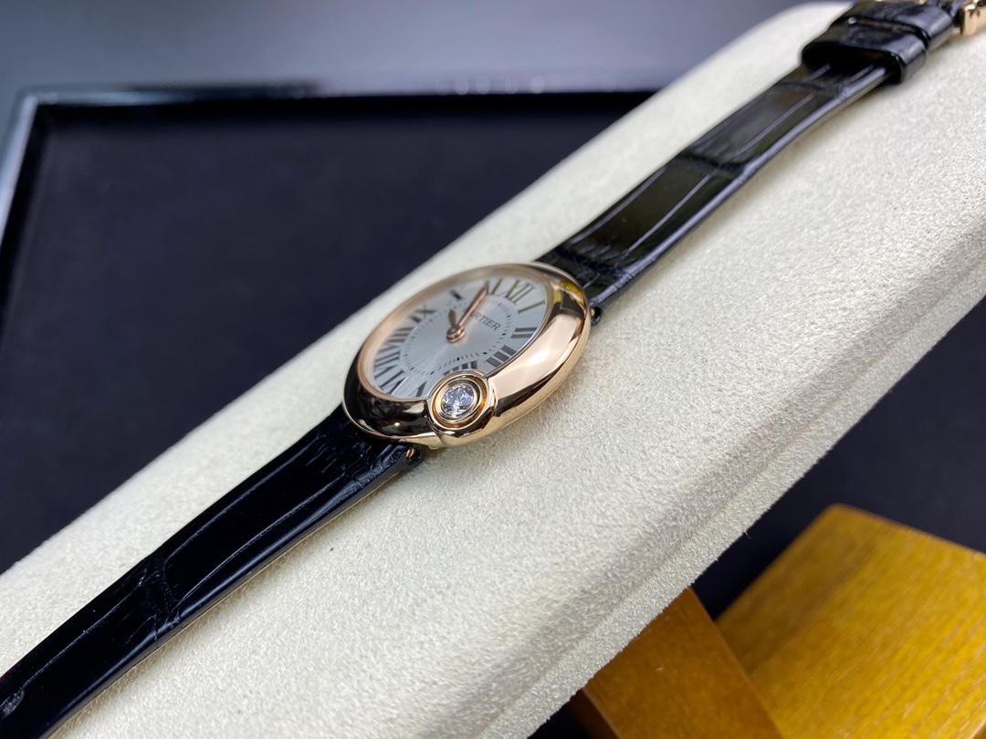 女表V6廠手錶卡地亞白氣球尺寸30mm仿表,N廠手錶