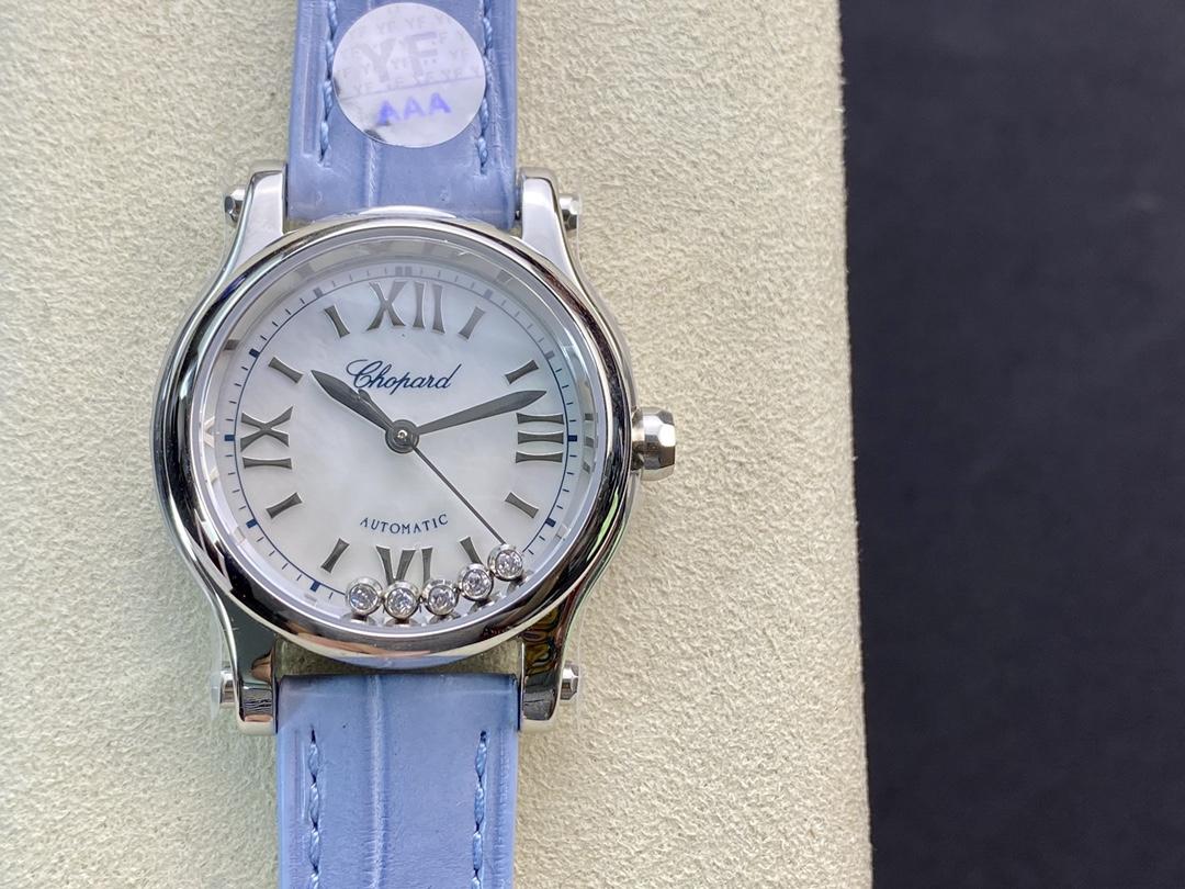 YF廠手錶蕭邦快樂鑽30mm HAPPY SPORT MEDIUM AUTOMATIC系列,N廠手錶