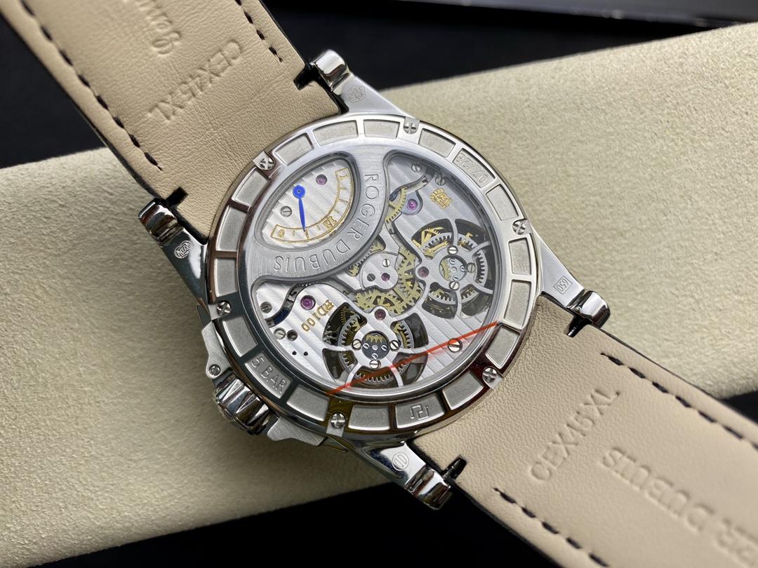 真雙陀飛輪JB羅傑杜比王者系列雙飛行陀飛輪,N廠手錶