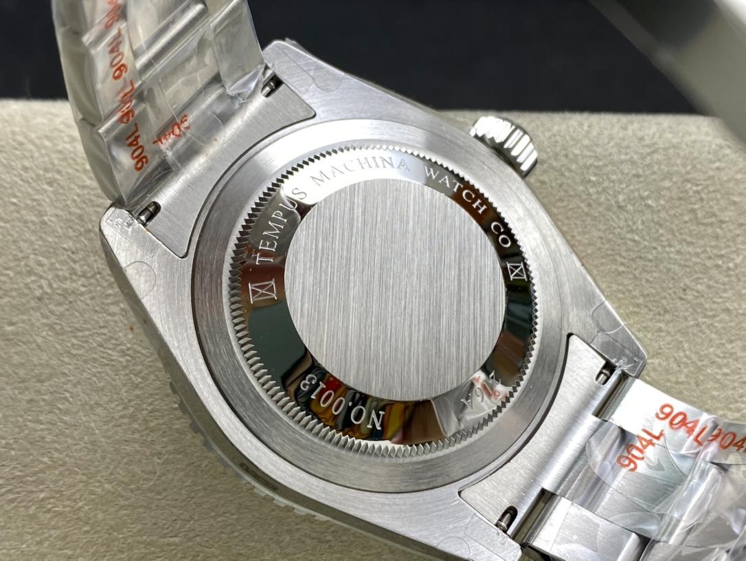 稀缺款GM廠手錶仿表勞力士國外改裝品牌tempus machina 紅三角SUB水鬼定制潛航者,N廠手錶