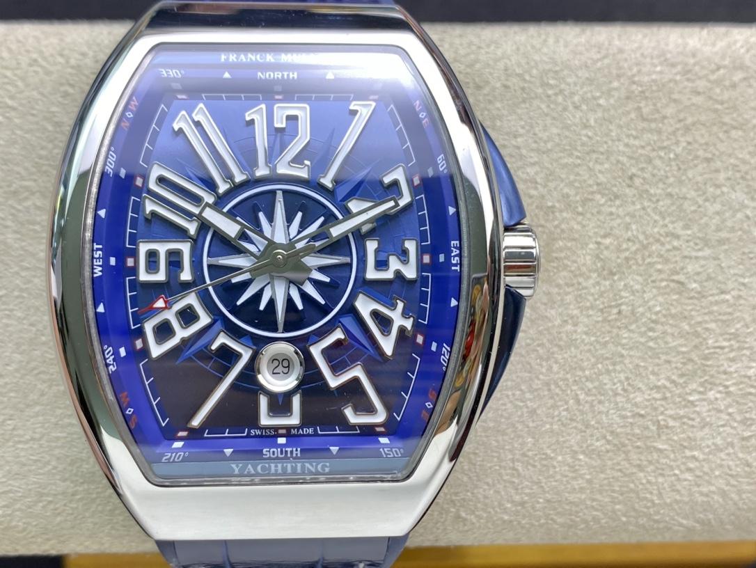 ABF廠手錶Franck Muller 法蘭克穆勒 FM Vanguard Yachting V45遊艇系列,N廠手錶