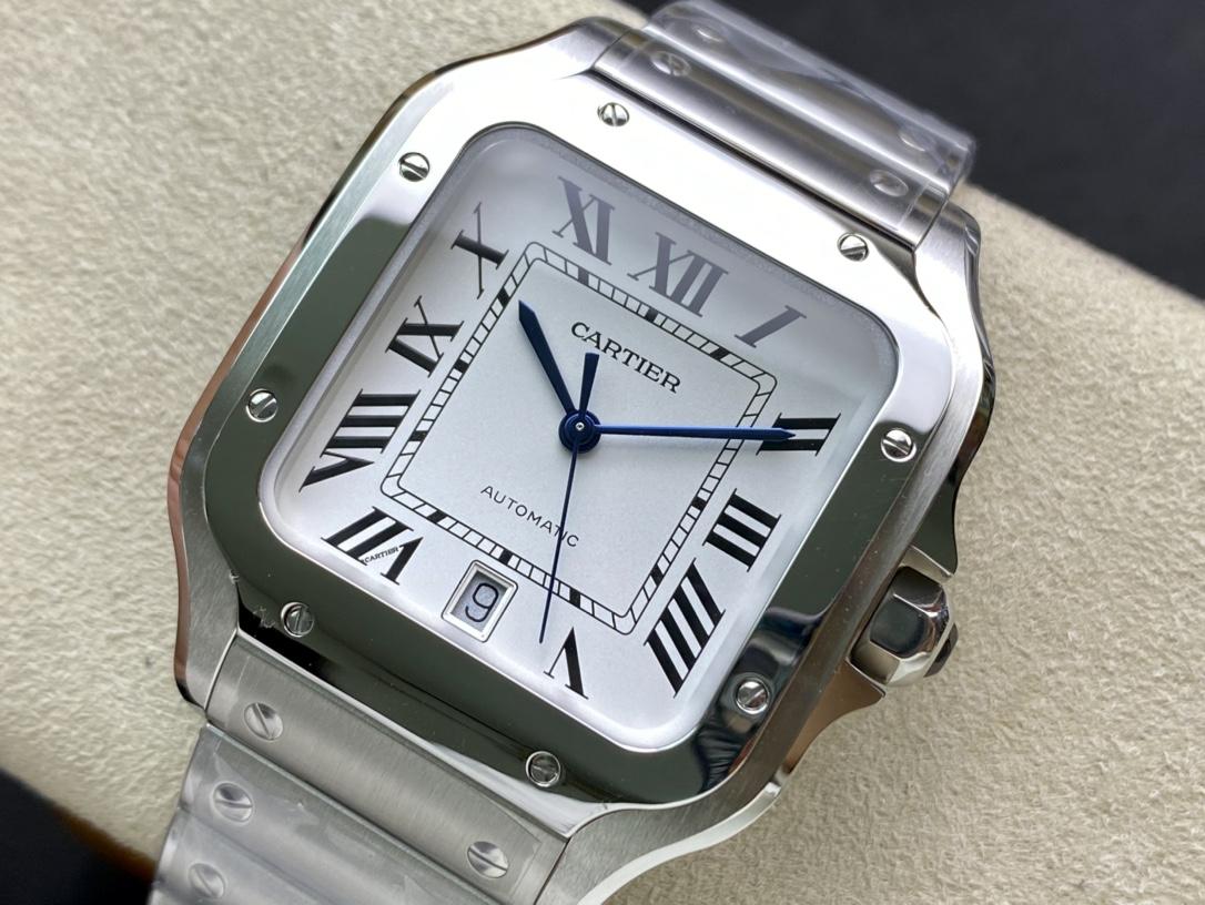 RXW-factory出品仿表卡地亞山度士,N廠手錶