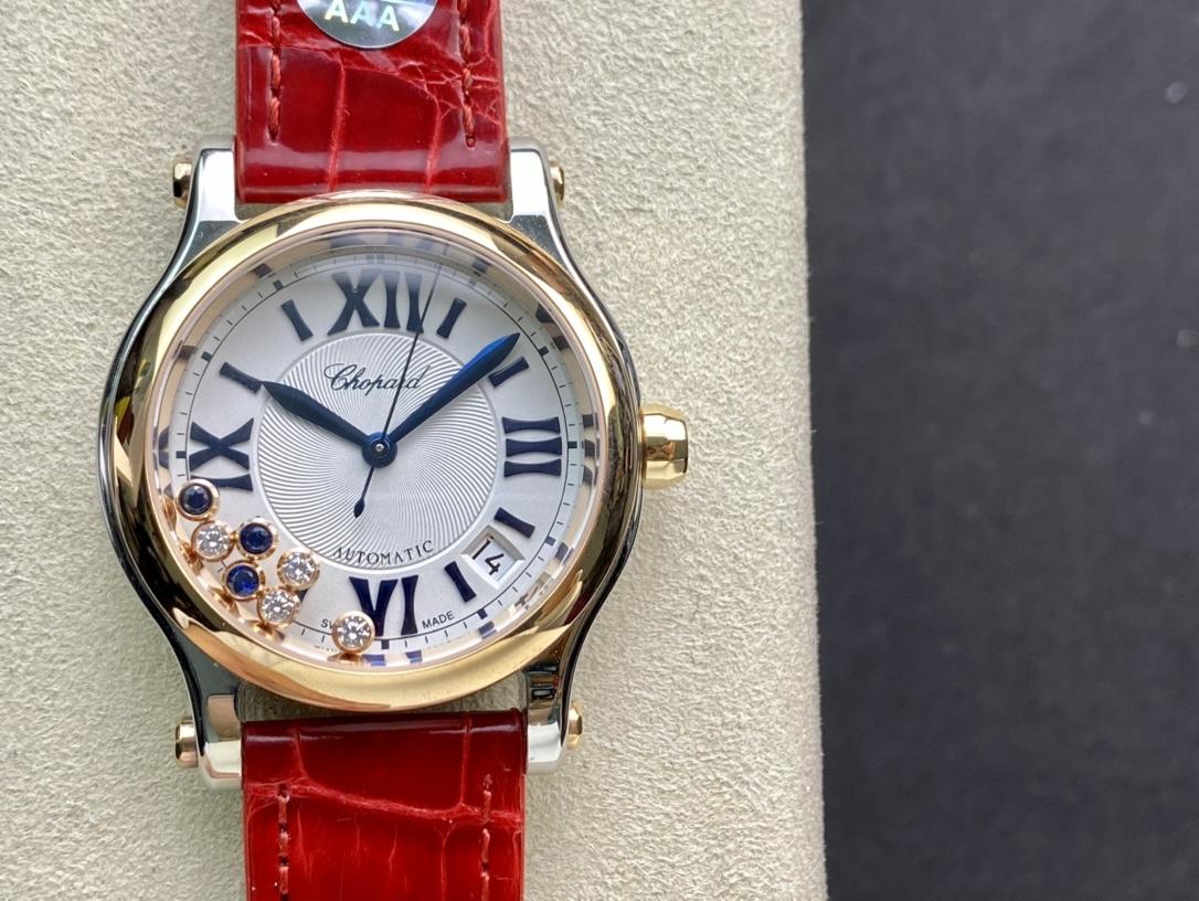 YF廠手錶仿表蕭邦HAPPY DIAMONDS 快樂鑽,N廠手錶