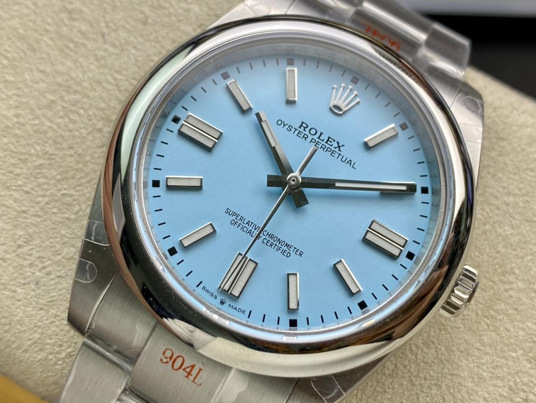 GMF廠手錶仿表勞力士蠔士恒動41mm七彩系列,N廠手錶