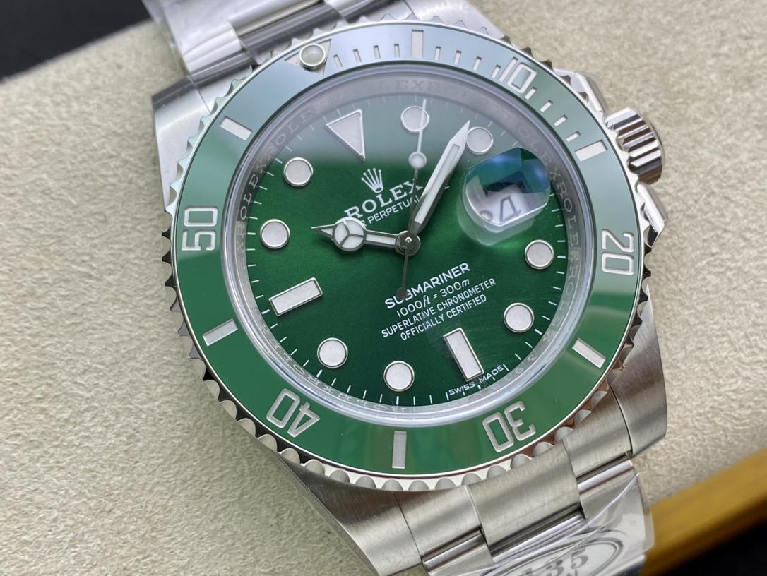 C廠CLEAN廠手錶仿表勞力士116610綠水鬼,N廠手錶