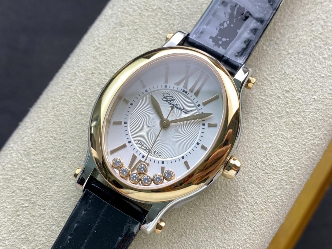 NR廠手錶仿表蕭邦橢圓型快樂鑽系列,N廠手錶