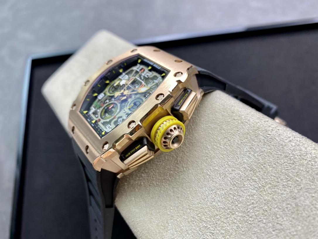 RICHARD MILLE 理查德米勒 RM011-03計時機芯,N廠手錶
