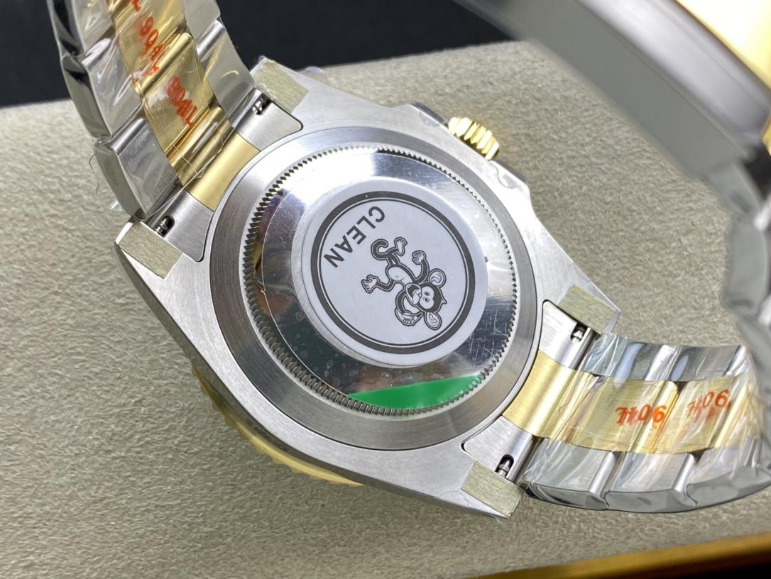 CLEAN廠C廠手錶仿表勞力士116613間金黑/藍水鬼,N廠手錶
